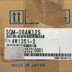 Yaskawa Electric AC Servo Motor SGM-08AW12S